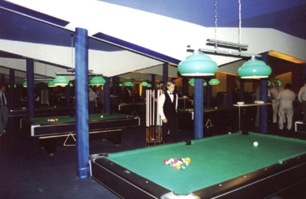 COSMIC BILLIARDS HALL